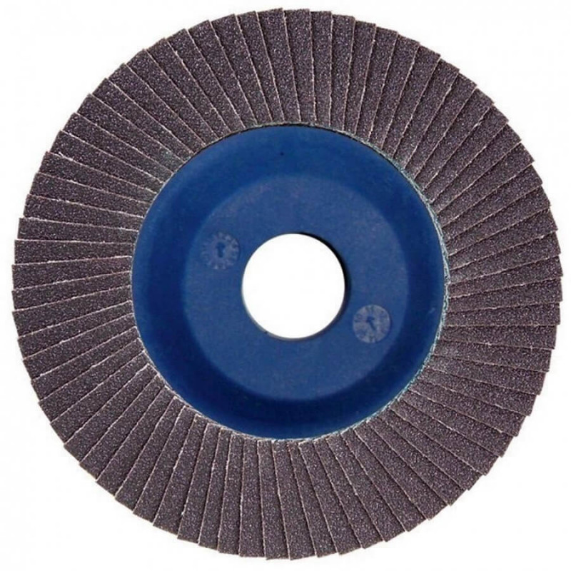 Disco Flap 180x22.23mm Grano 80 Carburo de Silicio / Concreto Makita D-28210