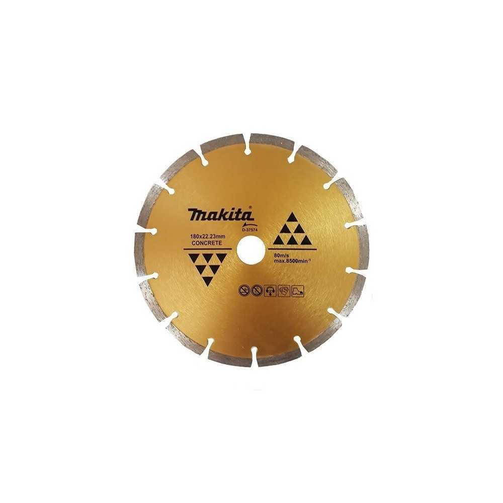 Disco Diamantado Segmentado 180x22.23mm / Seco / Concreto Makita D-37574