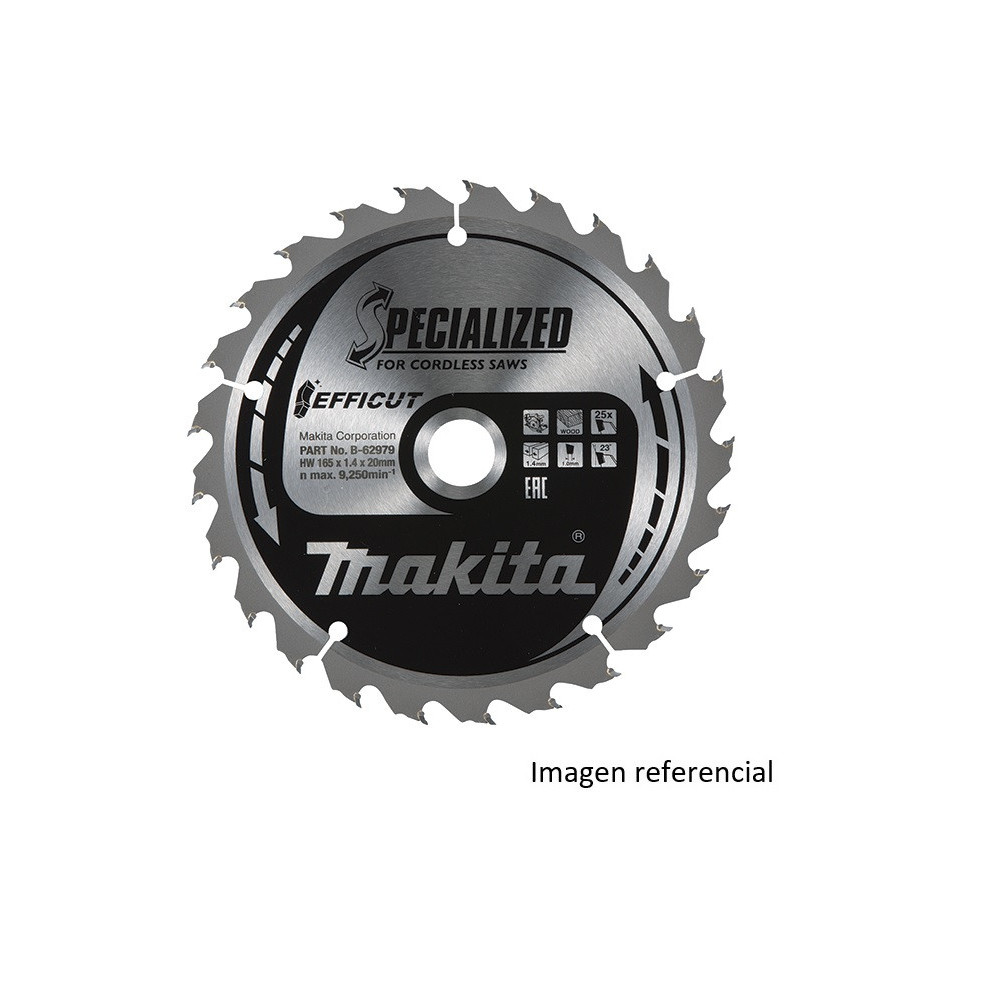 "Disco Corte Metal 5-1/8"" /136x20mm 30D EFFICUT Makita B-69381"