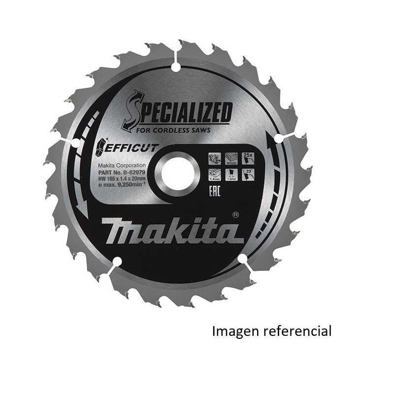 "Disco Corte Metal 5-1/8"" /136x20MM 45D EFFICUT Makita B-69397"