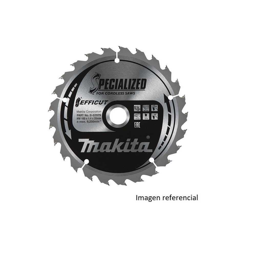 "Disco Corte Metal 6"" /150x20MM 33D EFFICUT Makita B-69406"