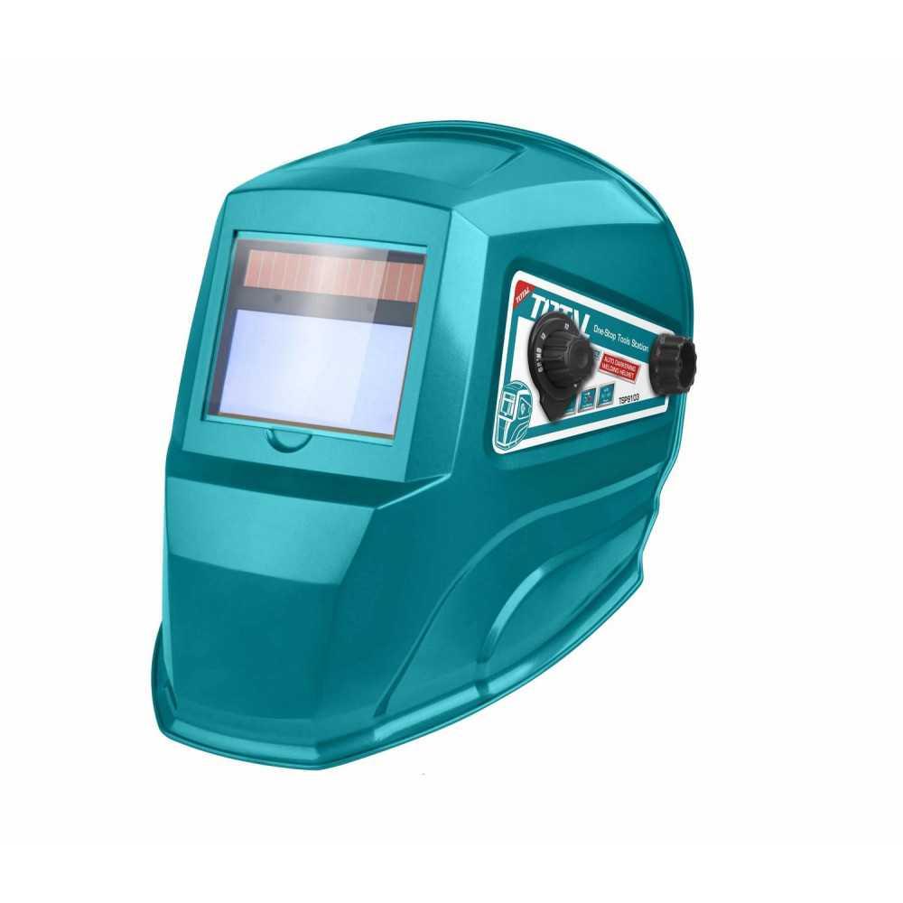 Máscara para soldar fotosensible DIN3 100x49mm. Total Tools TSP9103