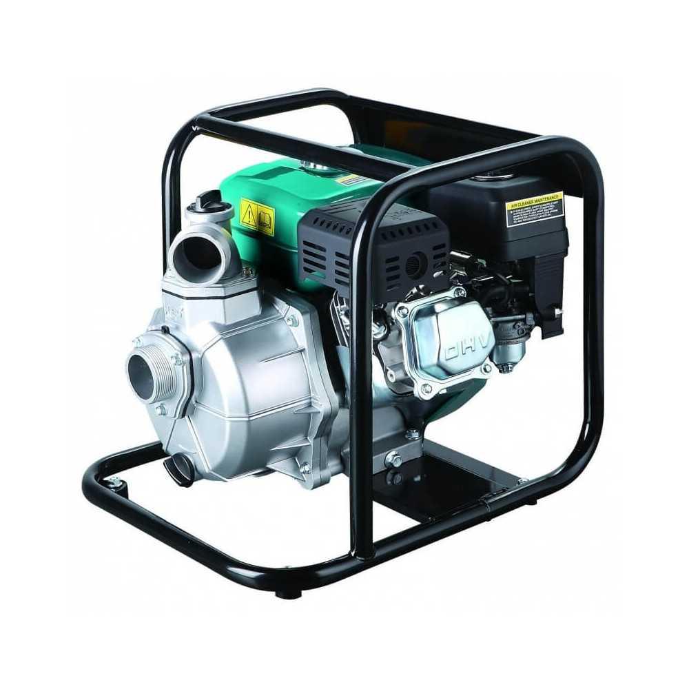 "Motobomba a Gasolina 2""x2"" 5.5HP LGP20A Para Agua Limpia Leo 104762"