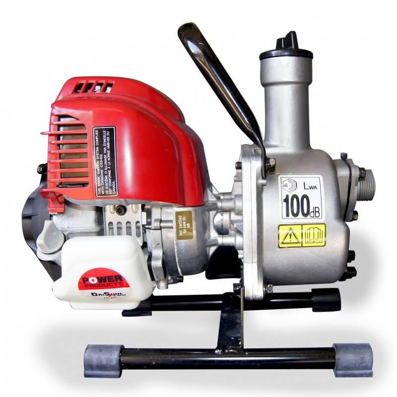 "Motobomba a Gasolina Autocebante 1""x1"" 1.1HP SCR-254HX GX-25 Para Agua Limpia Daishin-Honda 103905"