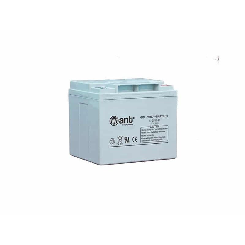 Batería de Gel 38AH 12V GFM Want Energia 34960