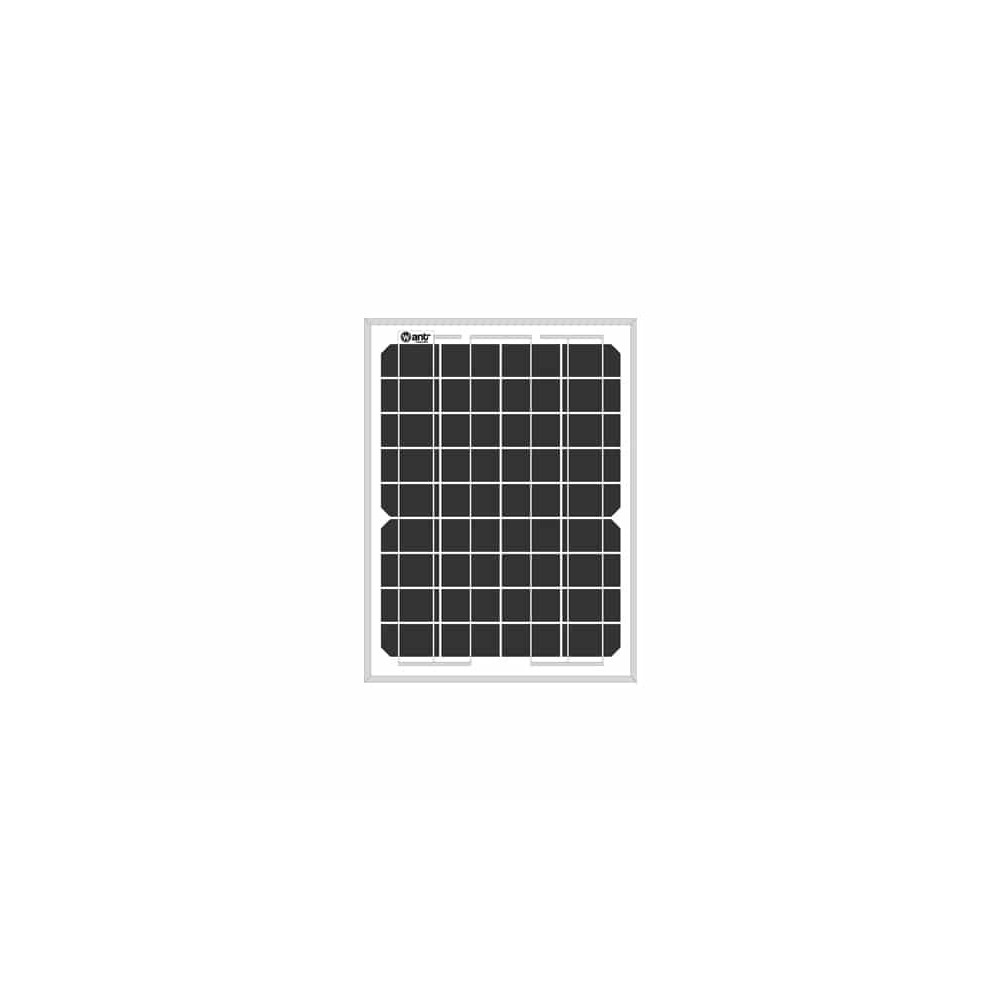 Panel Solar Monocristalino 10W 327x245x17mm Want Energia 34885