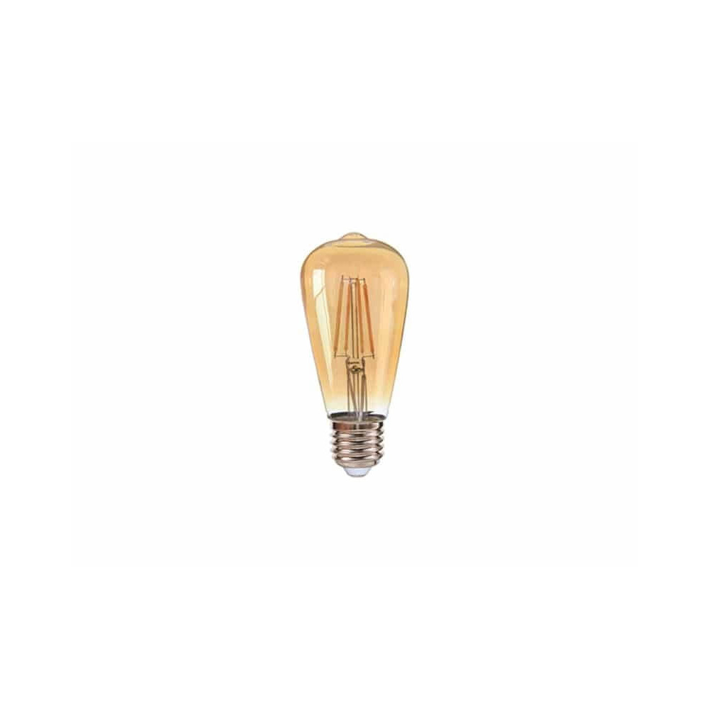 Ampolleta Led ST64 Filamentos E27 4W Luz cálida Want Energia 35064