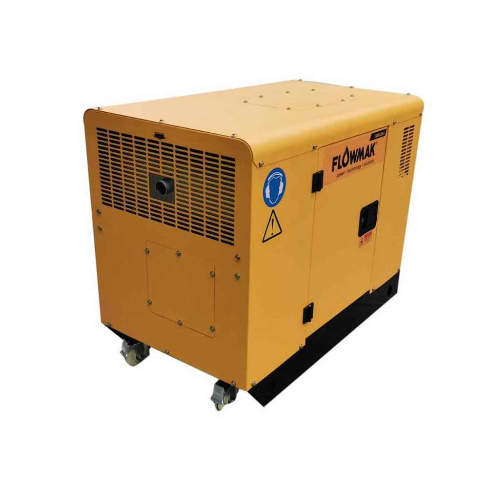 Generador Eléctrico Diésel 220V 10000W LDG12S Flowmak 109232