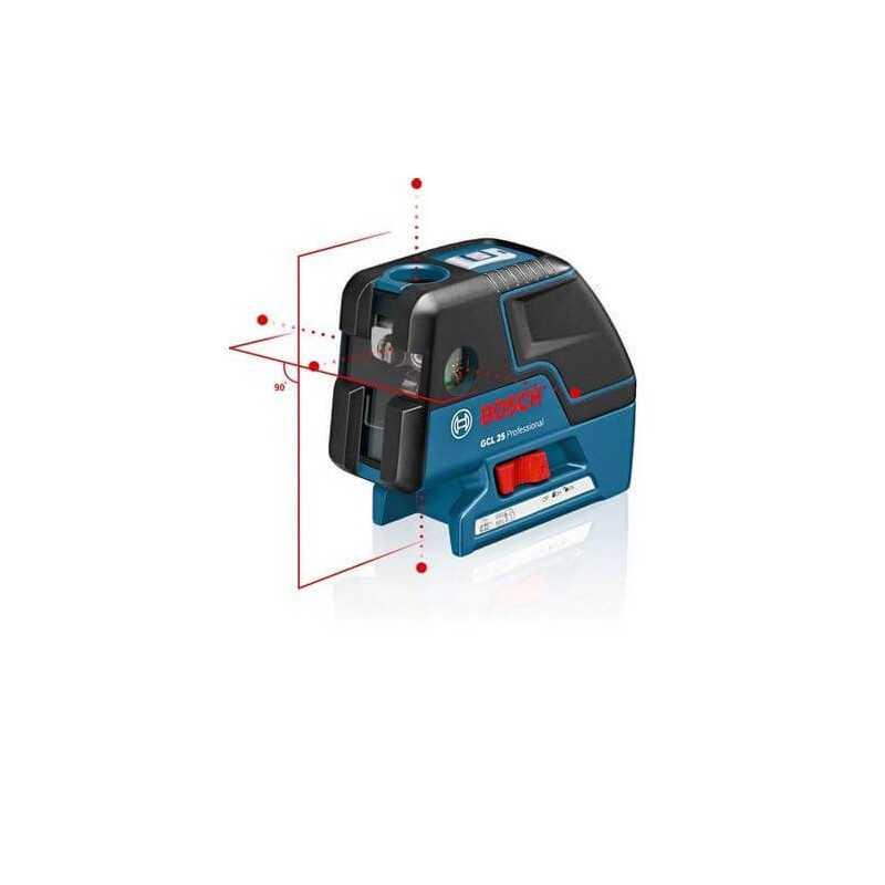 Niveles laser de Puntos y Lineas cruzadas Bosch GCL 25