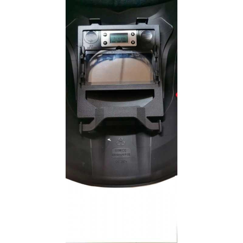 Máscara para soldar Fotosensible 103 x 52 MM Amarilla Blackweld ADF1000BW-A