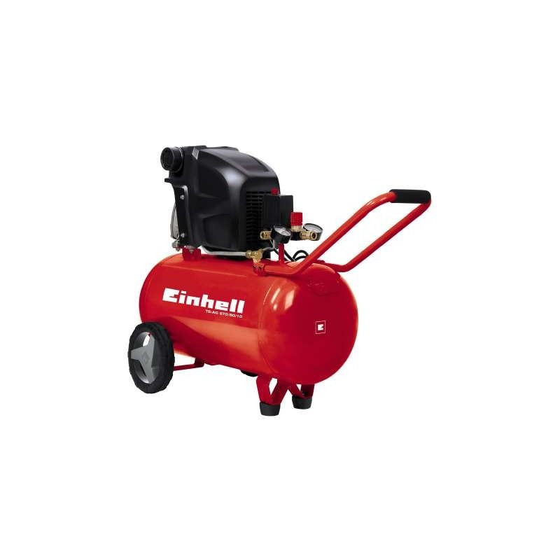 Compresor de aire 2,5 Hp 50 Lt Einhell TE-AC 270/50/10