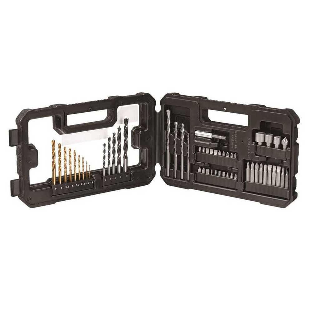 Set Accesorios Perforar y Atornillar 56 Piezas Stanley STA7223-XJ