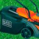 Cortadora de Pasto Eléctrica 1600W + Orilladora 600W Black&Decker GR3800-GL600