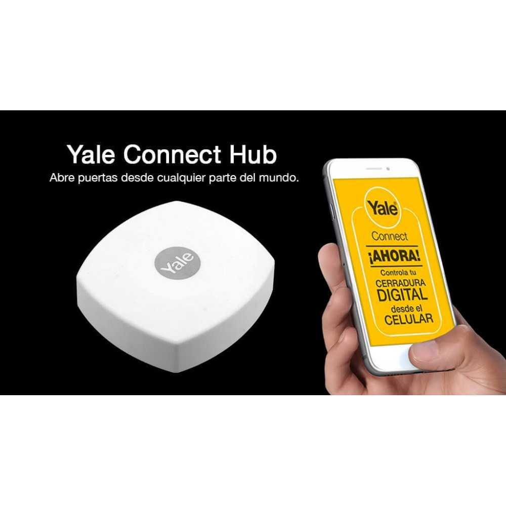 Pack Cerradura Digital YMF30 + ZigBee + Hub Yale 147270