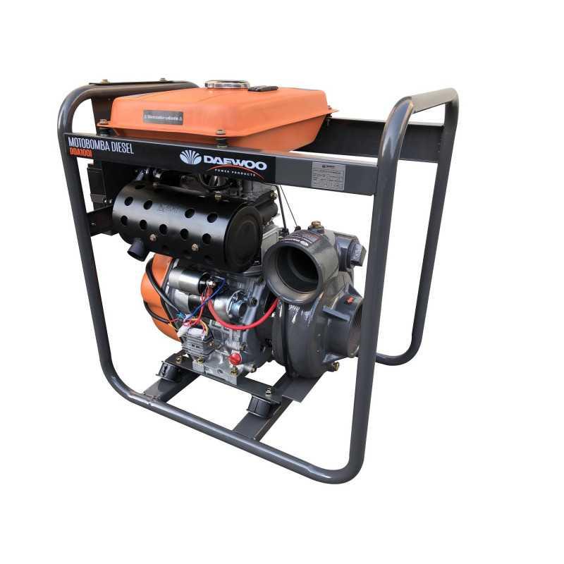 "Motobomba Diesel Alta Presión 4""x4"" 12HP DDA100I Daewoo 7799034124846"