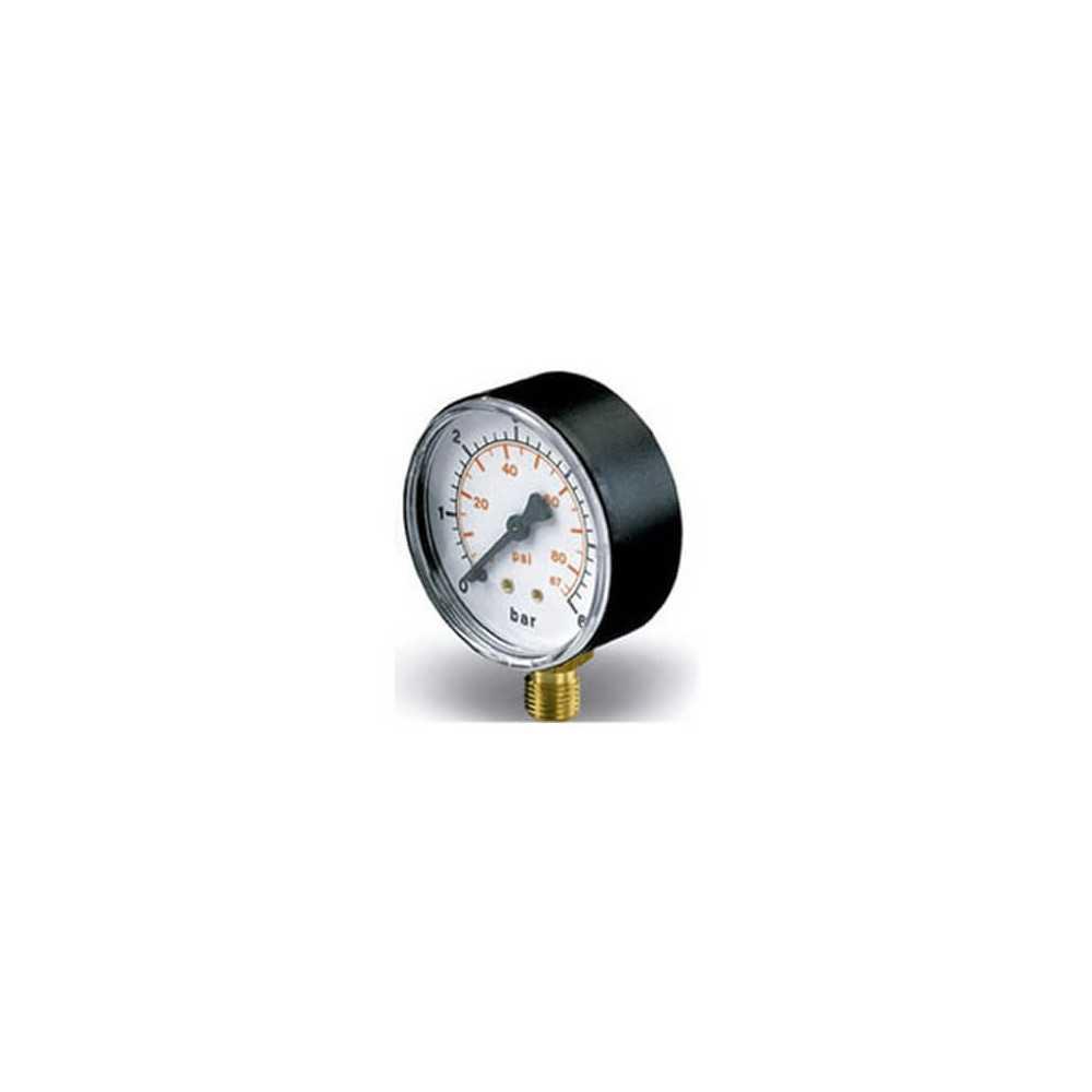 Manómetro Radial 0-6 Bar 50MM Alton 100001