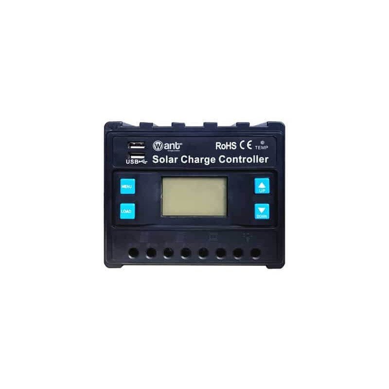 Regulador de Carga PWM 12/24V 40A Want Energia 34980