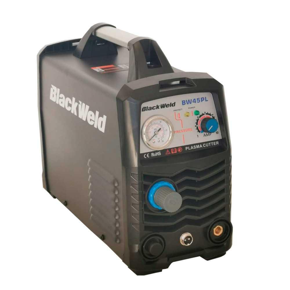 Cortadora de Plasma Inverter 220V 40A Blackweld BW45PL