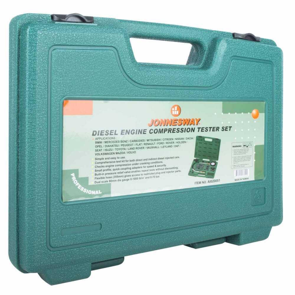 Compresimetro Diésel 0-70 Bar AI020051 Jonnesway MI-JON-32345