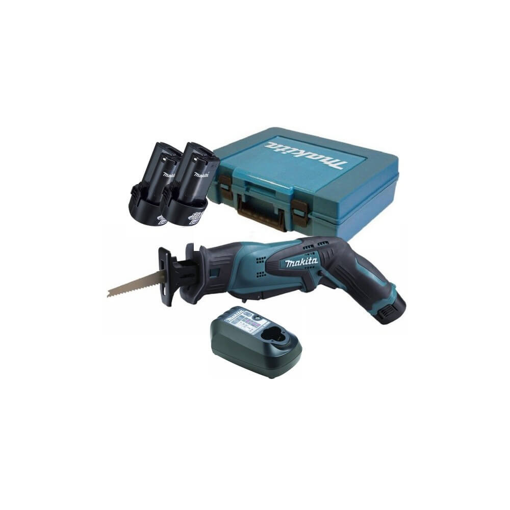 Sierra Sable 10,8 V / 12V Max Vel Variable 0-3300 Capacidad máxima corte 50 mm 12kg Makita JR100DWE