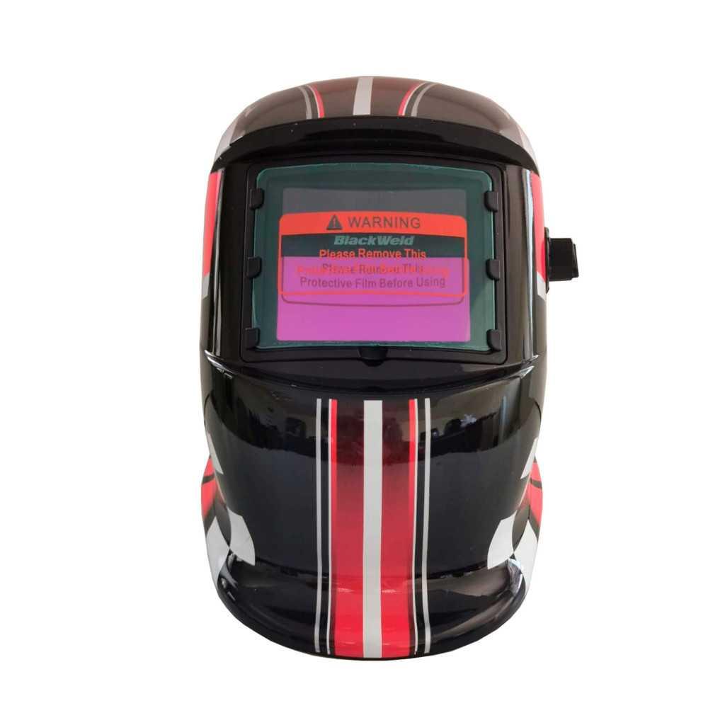 Máscara para soldar Fotosensible Diseño Carrera 92x42 mm Blackweld BWM300
