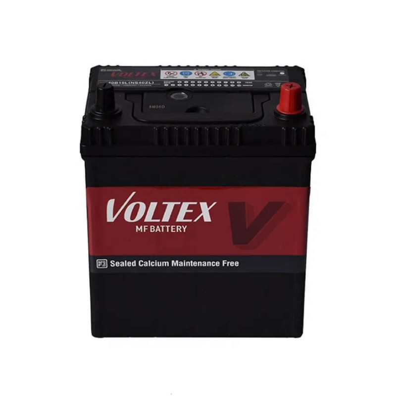 Batería de Auto 65AH Positivo Derecho CCA 580 75D23L Voltex 601161