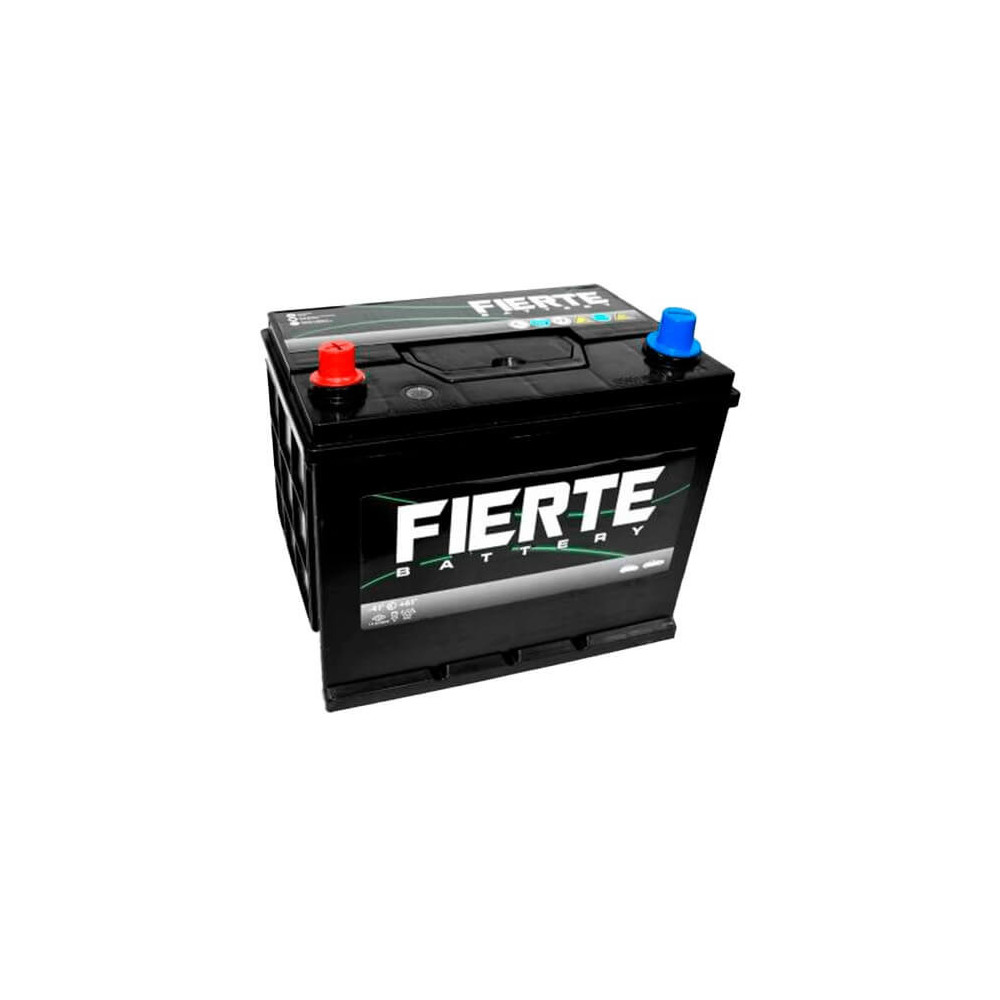 Batería de Auto 75AH Positivo Izquierdo CCA 520 N70Z 75D31R Fierte 601205