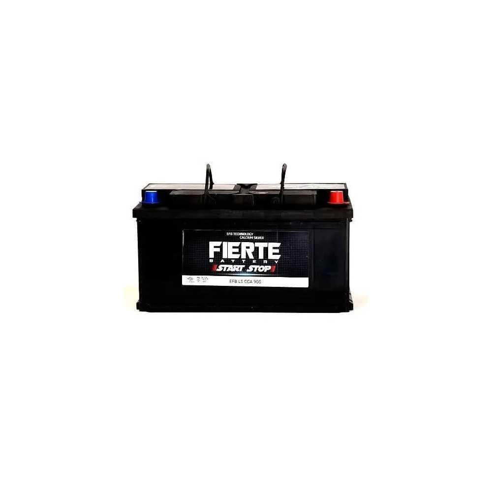 Batería de Auto 95AH Positivo Derecho CCA 900 EFB START STOP L5 Fierte 601250