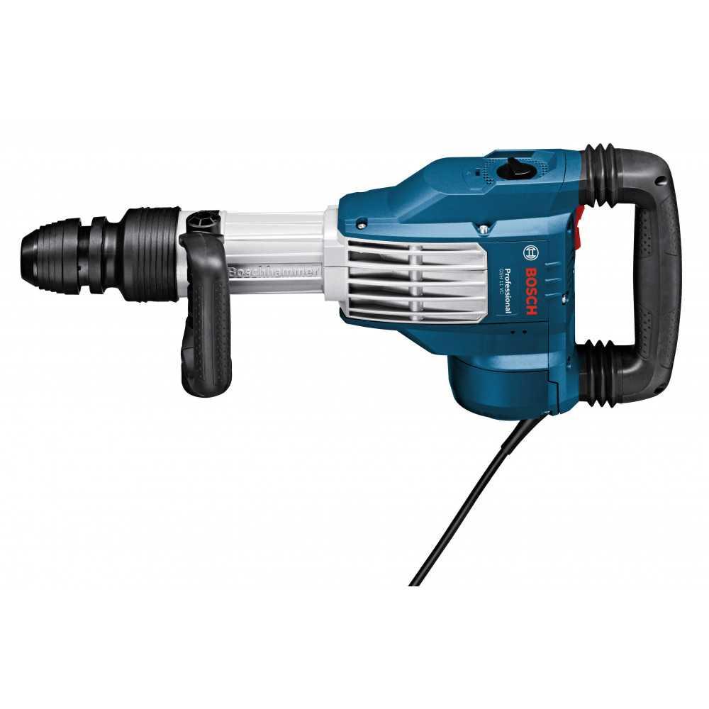 Martillo Demoledor 1700W 23 J 17000 gpm 11,4 kg Bosch GSH 11 VC