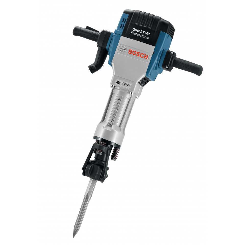 Martillo Demoledor 2000W 62 J 1000 gpm 29,5 kg Bosch GSH 27 VC