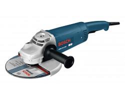 """Esmeril Angular 9"""" 2400W 6500 rpm 5,4 kg Bosch GWS 24 - 230"""