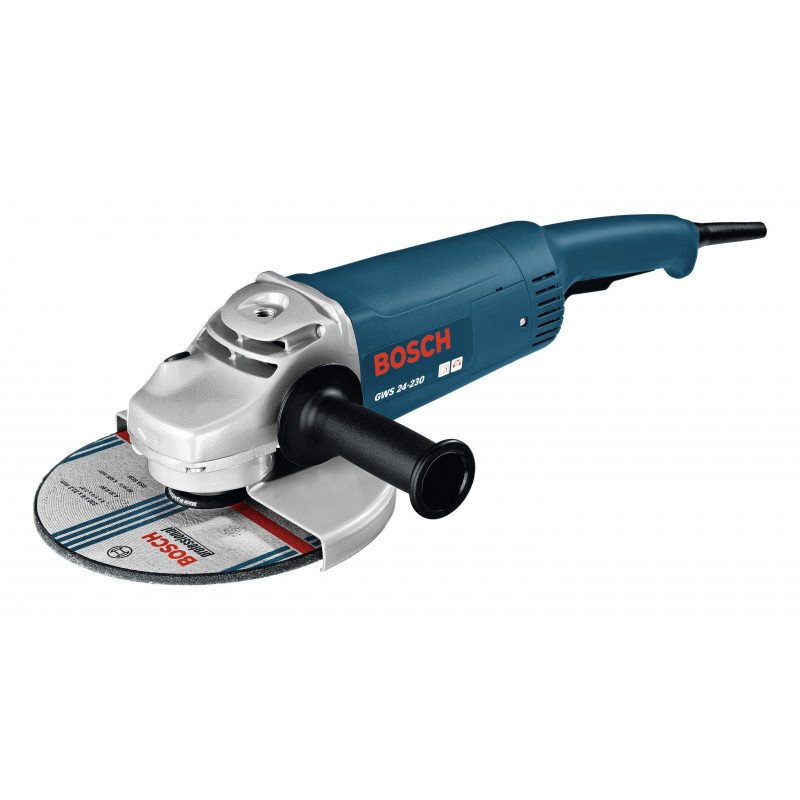"Esmeril Angular 9"" 2400W 6500 rpm 5,4 kg Bosch GWS 24 - 230"
