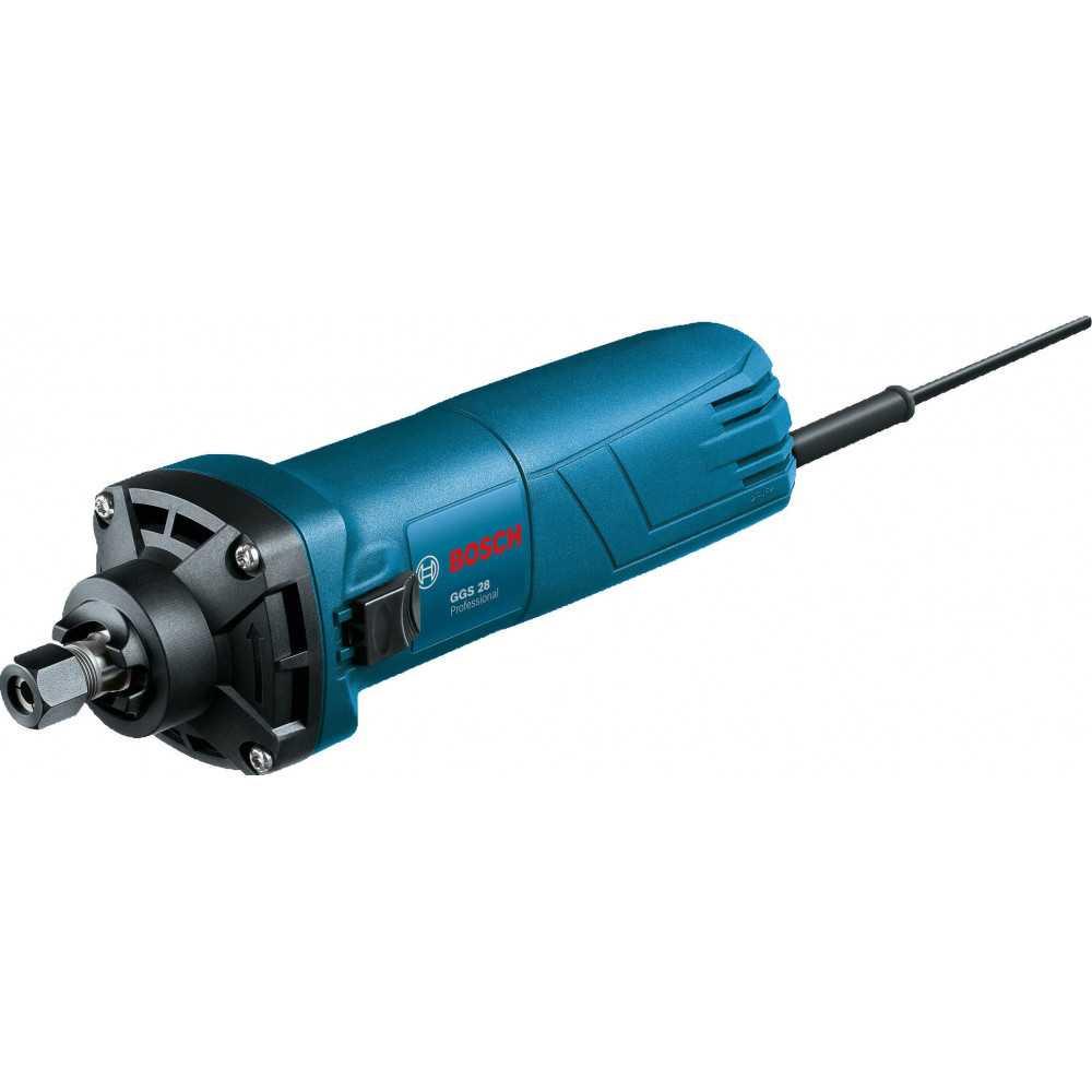 Bosch Rectificadora 500W. 33.000 r.p.m. 1 kg Cod GGS 28