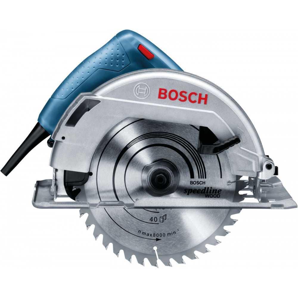Bosch Sierra Circular 1.100W. 5.200 r.p.m. 3,6 kg Cod GKS 7000
