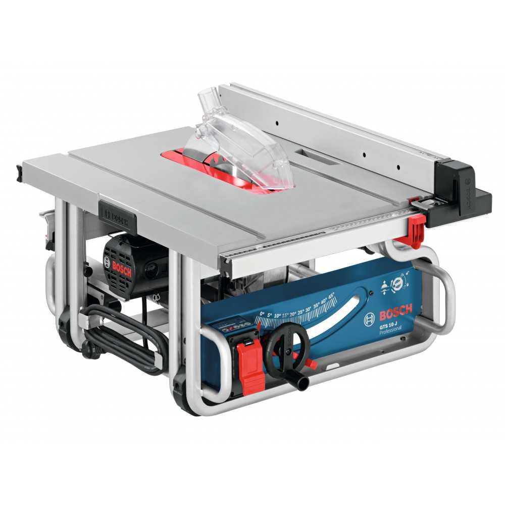 Sierra de Banco 254mm 1800W 3650 rpm Bosch GTS 10 J