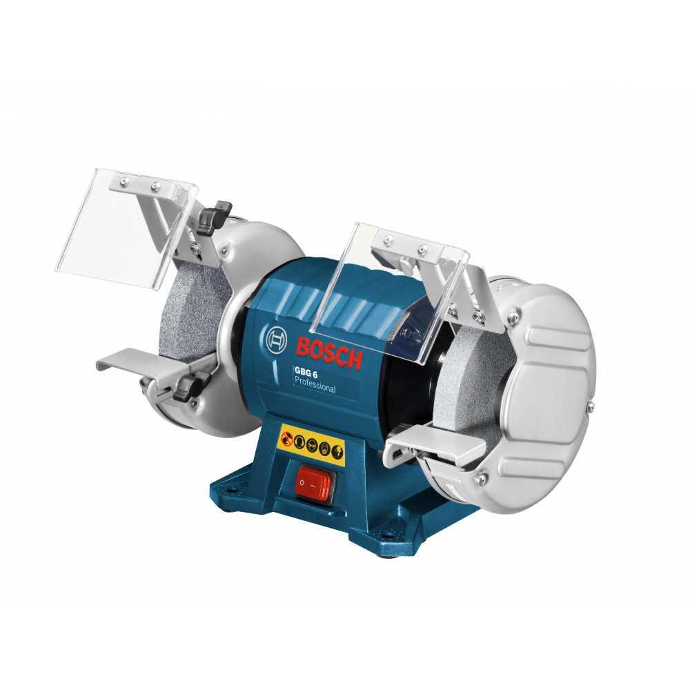 Bosch Esmeril de Banco 150 mm. 350W. 2.900 r.p.m. 10,3 kg. Cod GBG 6