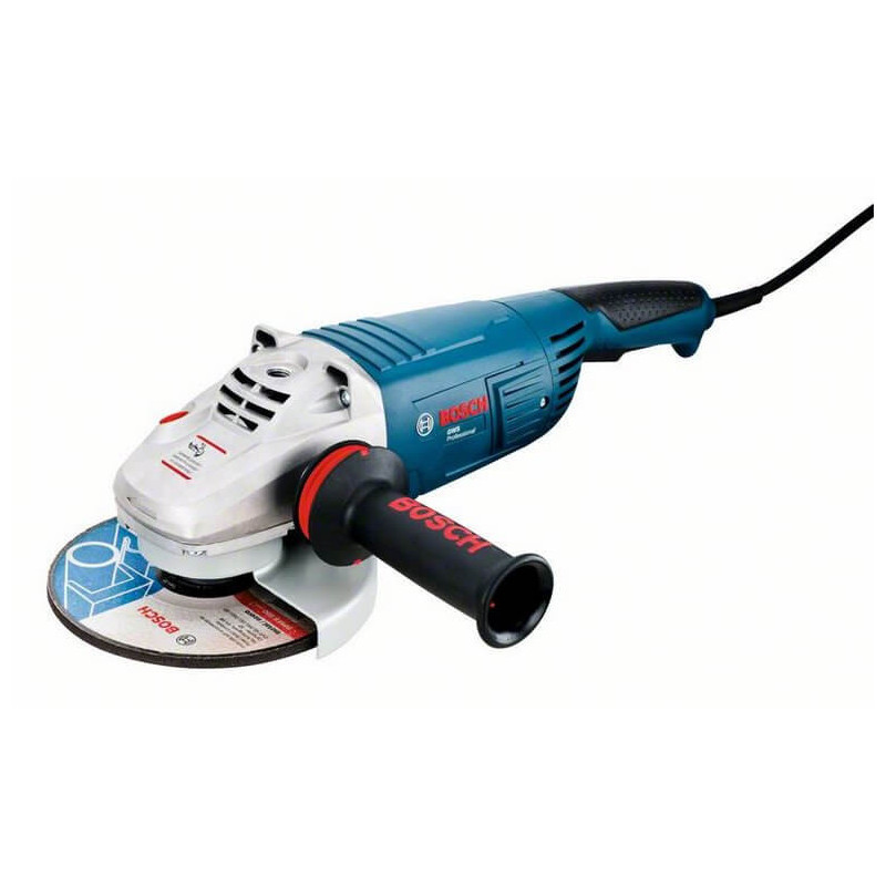 "Esmeril Angular 7"" 2600W 8500 rpm 5,8 kg Bosch GWS 26 - 180"