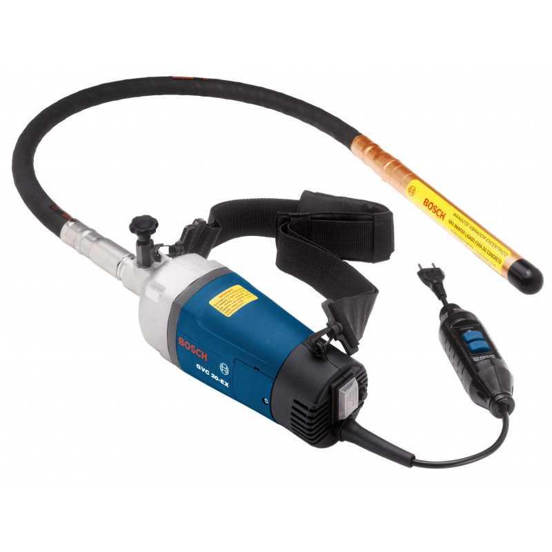 Vibrador de concreto 1400W 20000 rpm 5,5 kg Bosch GVC 20 EX