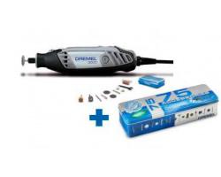 Rectificador multipro 3000 + 10 Accesorios + 75 Accesorios Dremel 3000/10/75 ACC
