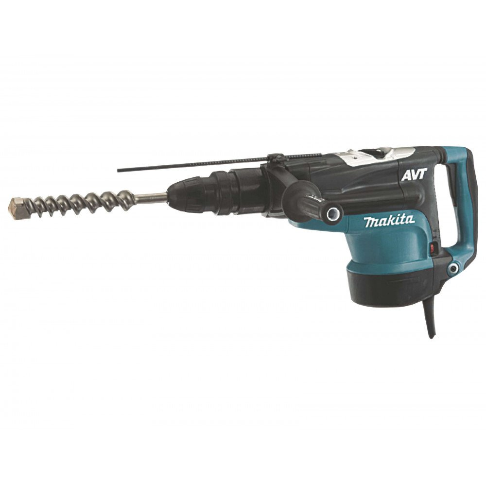 Makita Martillo Rotativo SDS-MAX 52 mm. 1.500 W. Cod HR5211C
