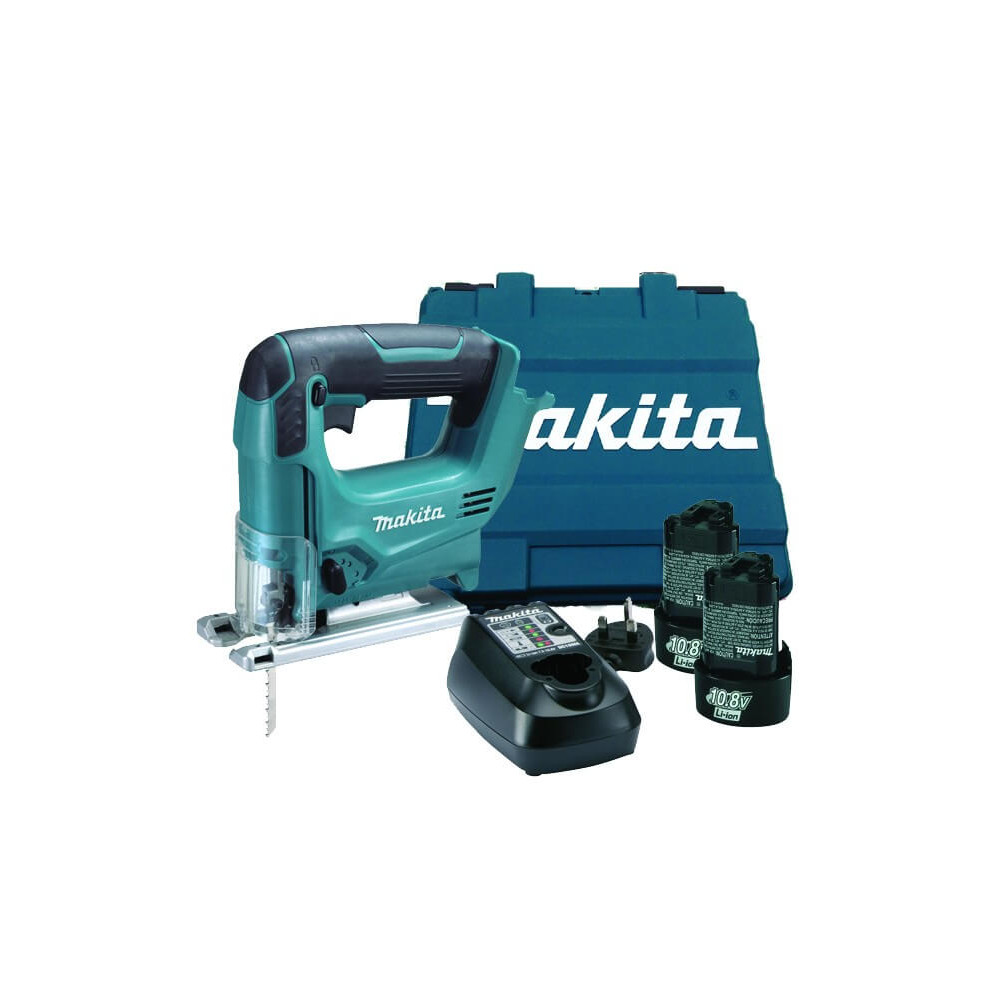 Sierra Caladora 10,8 V / 12V Max Vel Variable, Capacidad Max Corte 65 mm Makita JV100DWE