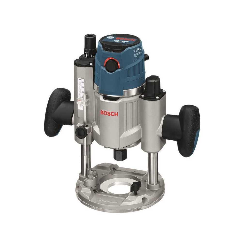 Bosch Fresadora Electrónica Constante 1.600W. 25.000 r.p.m. 5,8 kg Cod GOF 1600 CE