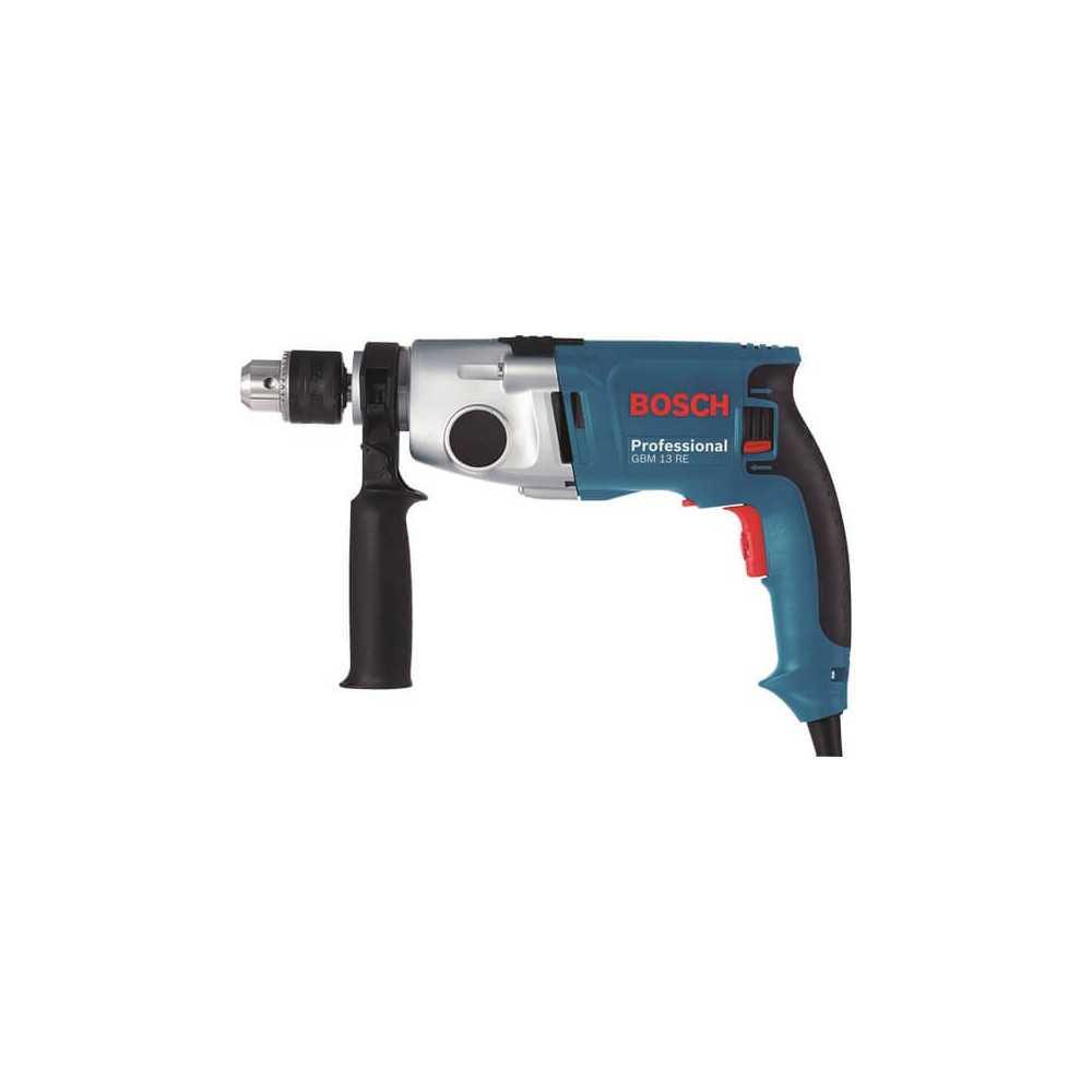 Bosch Taladro reversible 750 W. 1.100 r.p.m. 2,5 kg Cod GBM 13 RE