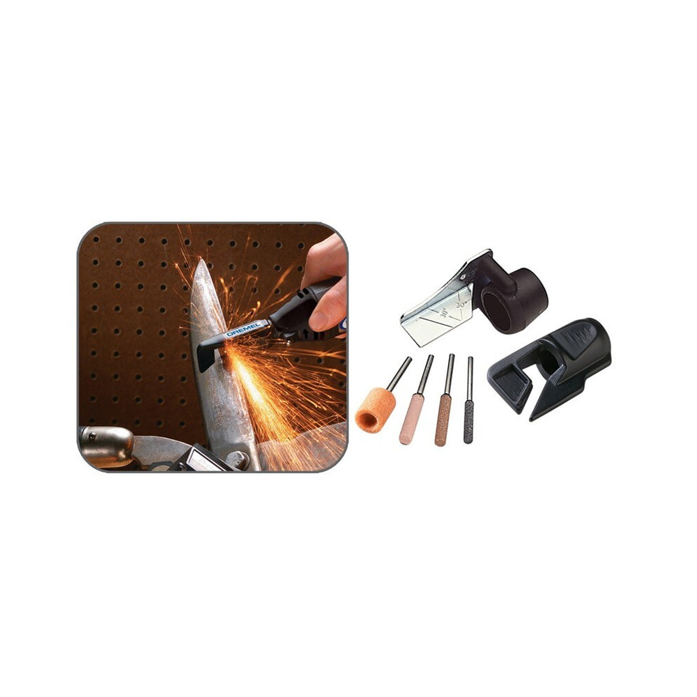 Kit para afilar sierra de madera Dremel 679
