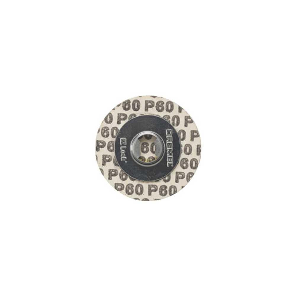 Discos de lija G60 EZLOCK Dremel EZ411SA