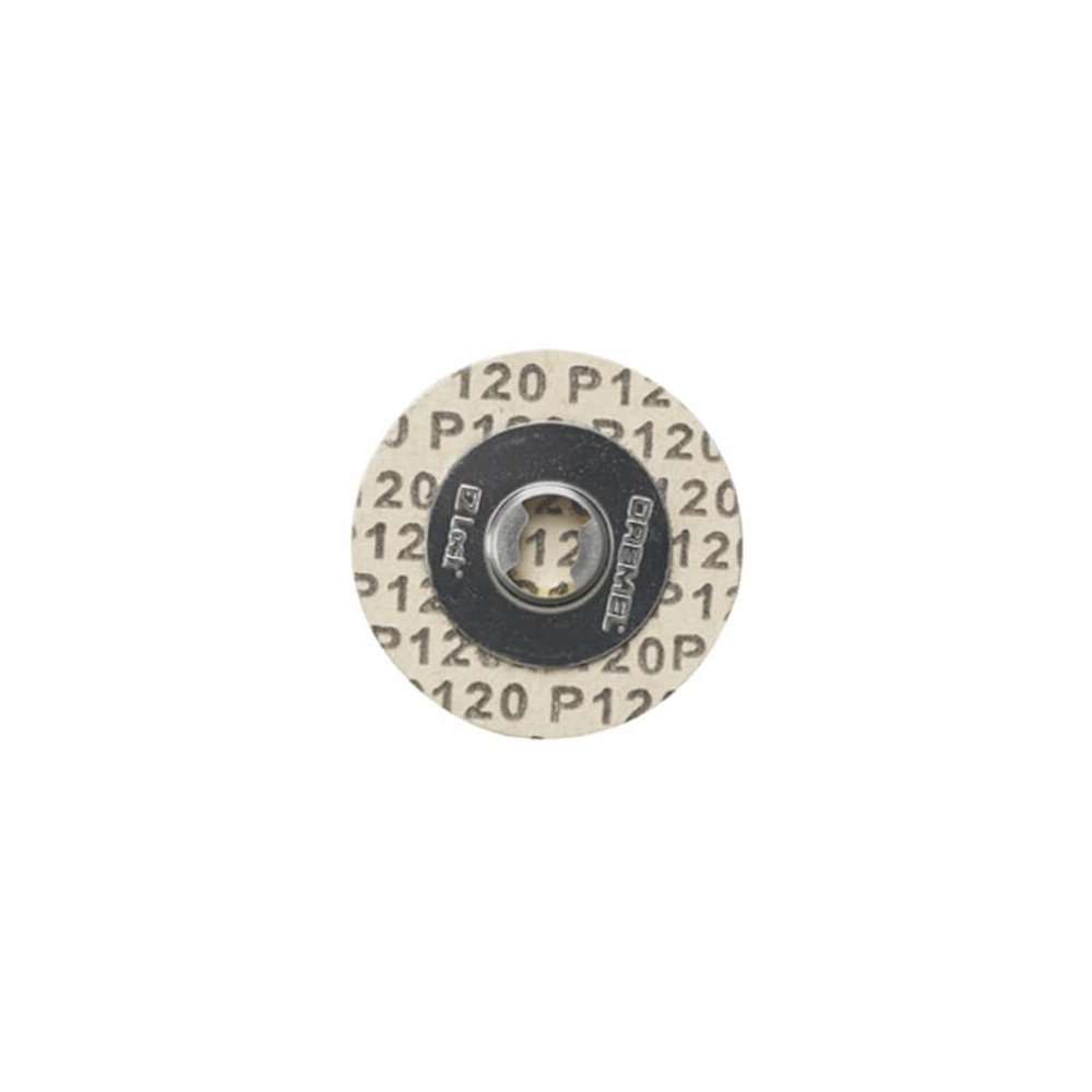 Discos de lija G120 EZLOCK Dremel EZ412SA
