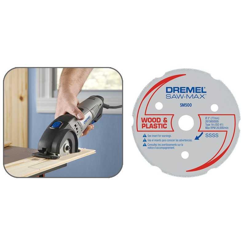 Disco de corte multipro madera y plástico Dremel SM500