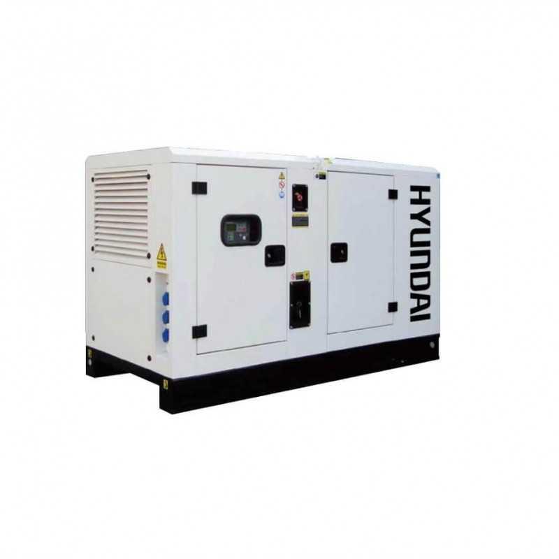 GENERADOR 14 Kva Industrial 380 volts Insonorizado HYUNDAI 78DCS14KSE