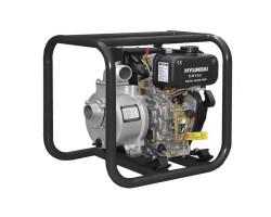 """Motobomba Diesel 2""""x2"""" Partida manual Agua limpia HYUNDAI 78DHY50"""