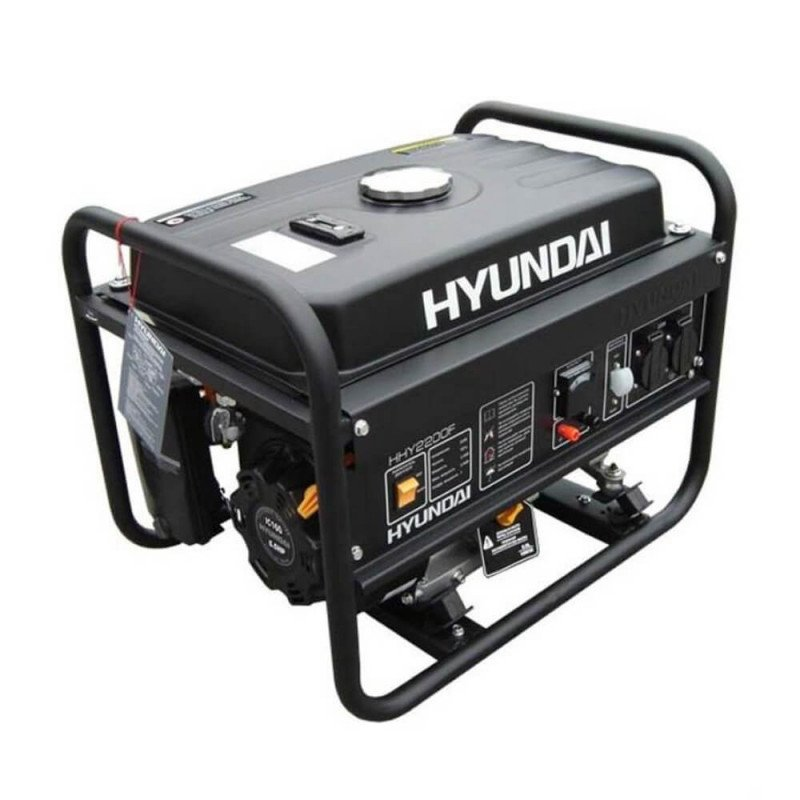 Generador Gasolina 2/2,2 Kva/Kw Partida manual monofásico Abierto HYUNDAI 78HY2200F